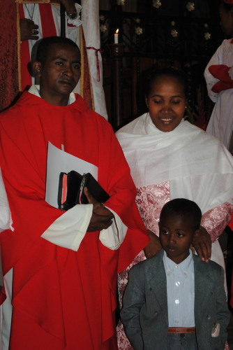 1 Rev. Donne with his wife ans son