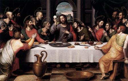 1 THE LAST SUPPER by Juan de Juanes